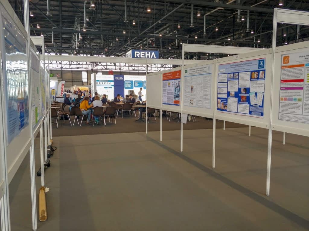 WCPT Congress 2019 Sesje plakatowe - ok. 74 dziennie (222 łącznie w ciągu kongresu)